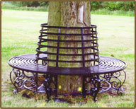 Tree Seat - Tatam Blacksmiths