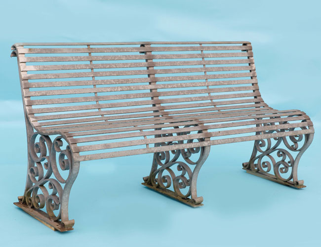 Sustantial Garden Bench - A real 'head turner' and is loved by our local customers