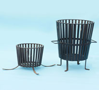 Heavy duty, solid construction, Braziers (Fire Baskets)