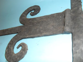 Door bracket - detail